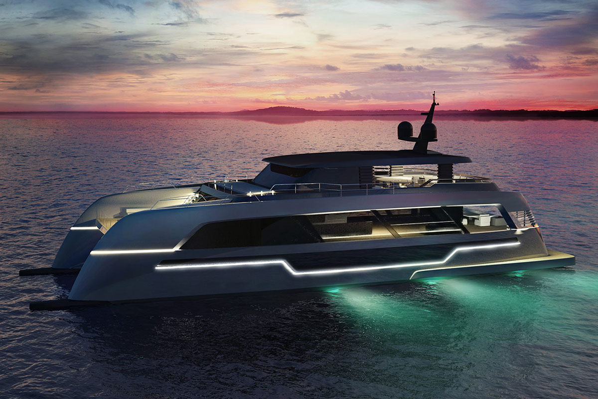 Polish builder reveals a new yacht in its portfolio – the 120 Sunreef Power