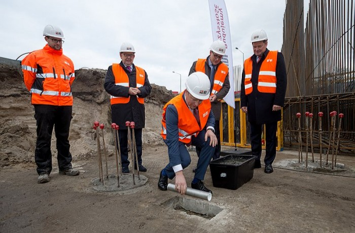 Foundation stone laid for yet another investment at the Port of Gdansk (Photo credit: Port of Gdansk)