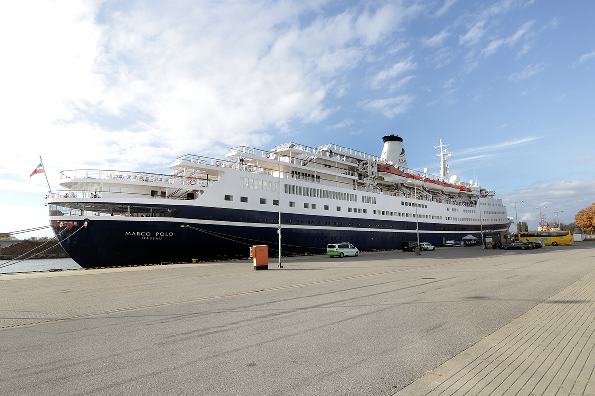 A new record in cruise ship calls at the Port of Gdansk