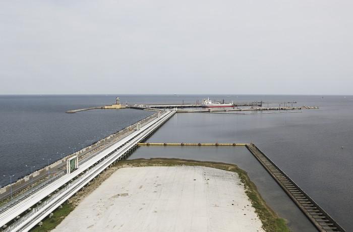 Naftoport in Gdańsk