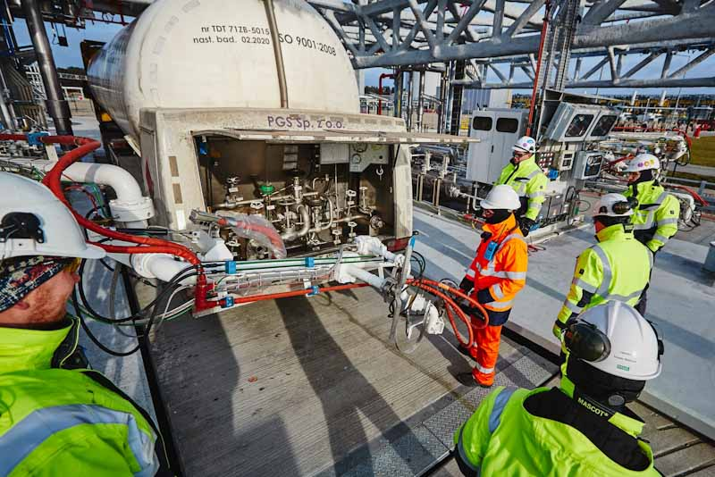 Polskie LNG record-breaking results on a European scale
