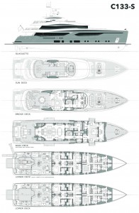 Conrad C133S - general arrangement