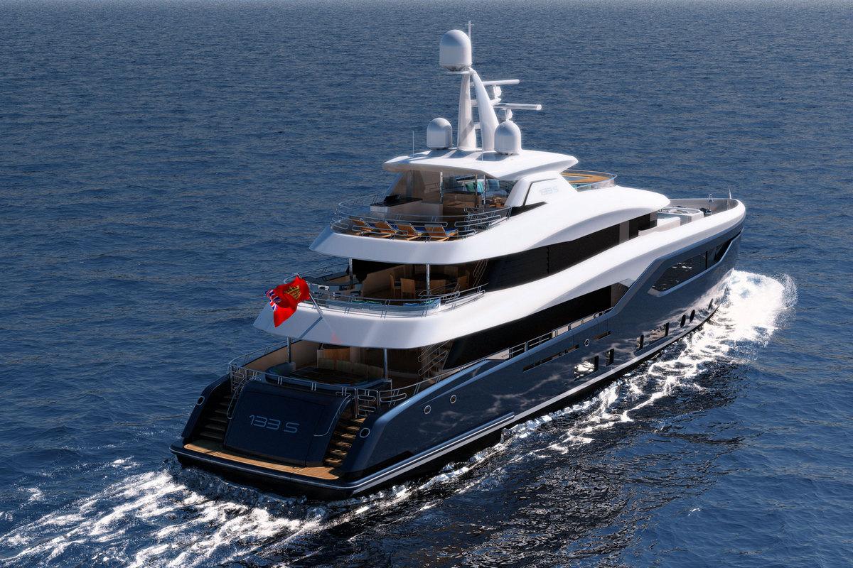 New yacht model – the Conrad C133S Straight Bow