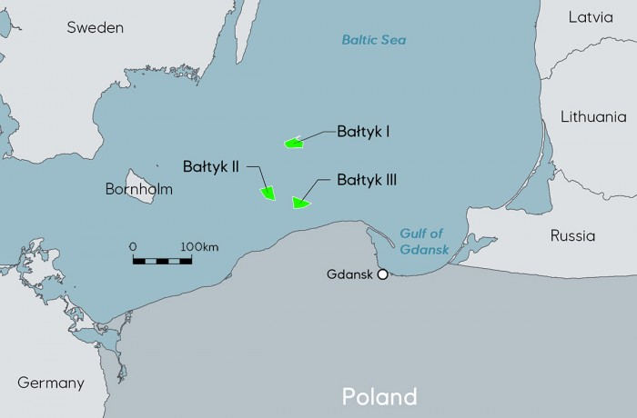 Equinor and Polenergia assets in Polish waters