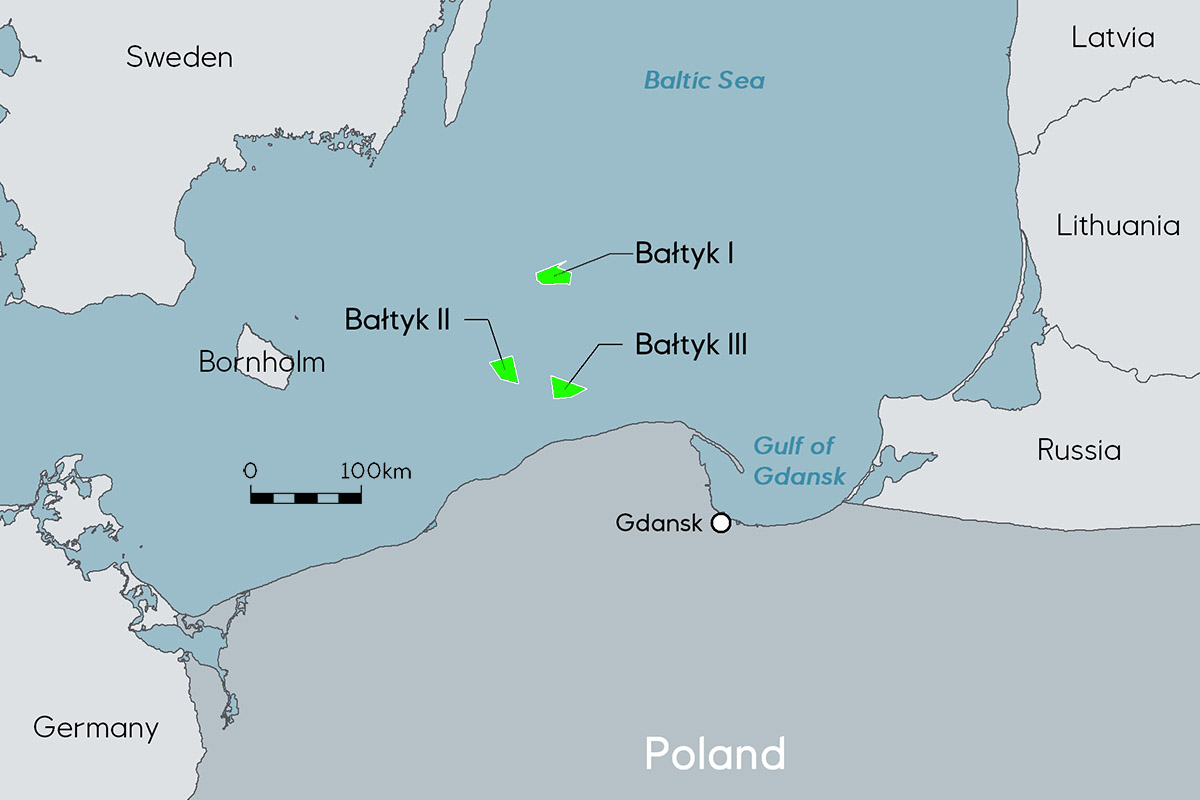 Polenergia and Equinor plandevelopment of the third wind power plantproject on the Baltic Sea
