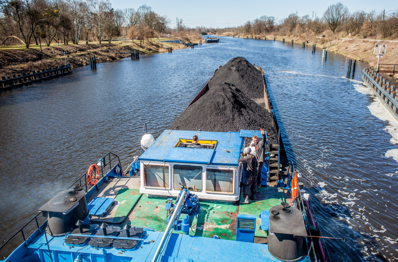 The end of the shipping season 2018 on the Gliwice Canal and the Oder