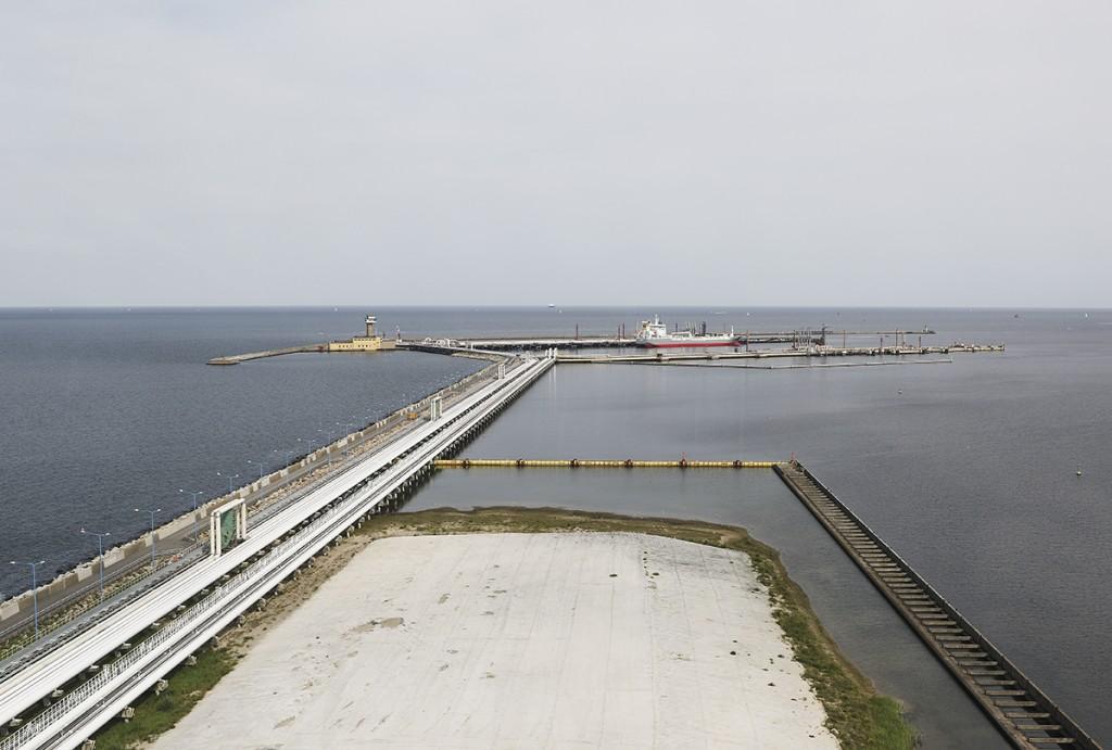 Naftoport in Gdańsk (Fot.: Sławomir Lewandowski)