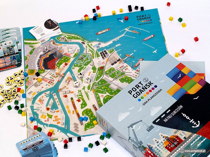 "The Port of Gdansk game - ""On the Wave of Success"" (Na Fali Sukcesow) - is the result of a year and a half long cooperation with the recognised board game creators Grupa MV Marcin Ropka, whose previous games include ""Alien Artefacts"" (Artefakty Obcych; 4 language versions, 15,000 copies), ""Taste of Poland"" (Polskie Smaki; 2 language versions, 2,000 copies), and ""It's your turn"" (Twoja Kolej; 3 language versions, 3,000 copies)"