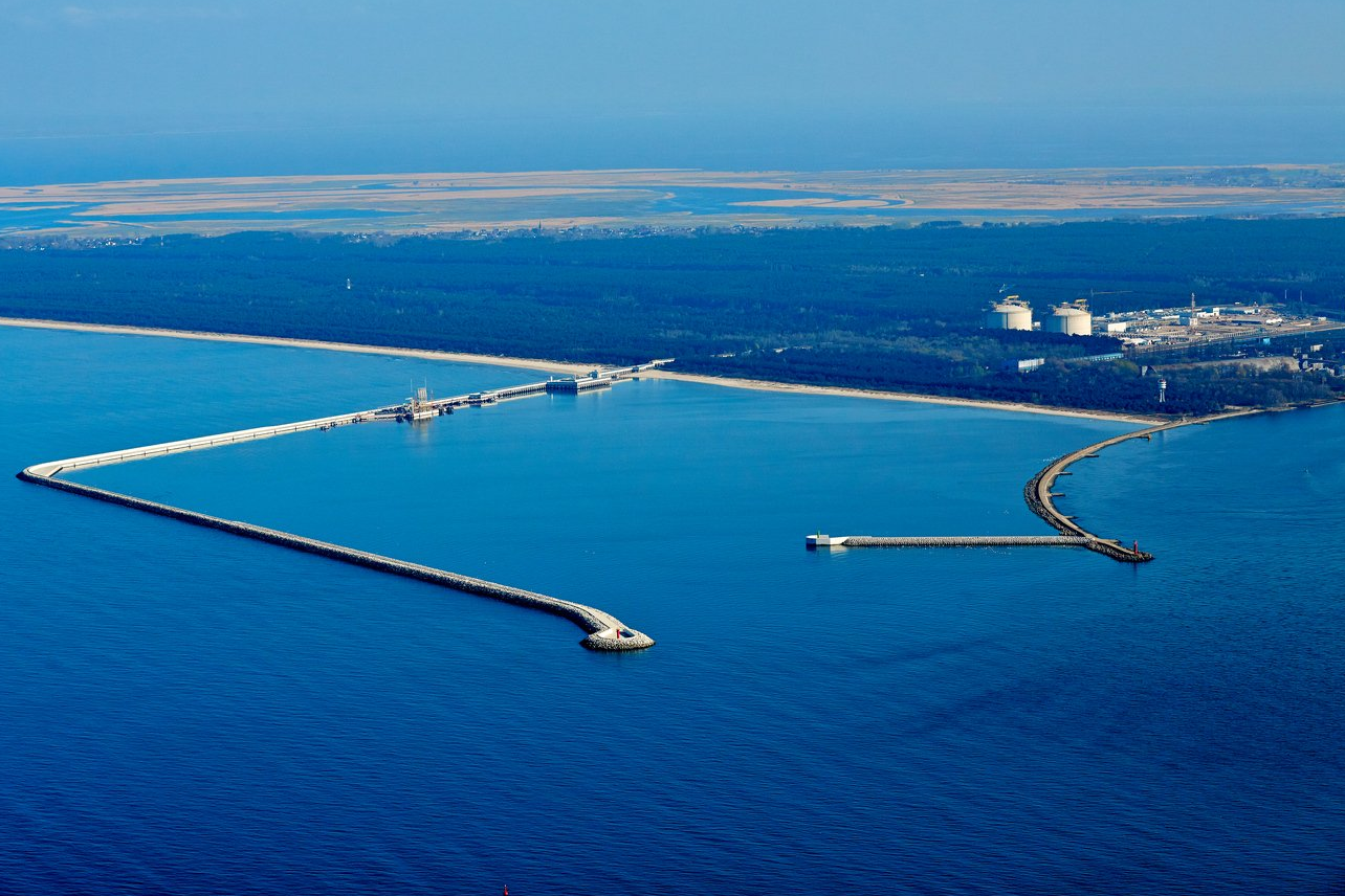 LNG Terminal ready for expansion