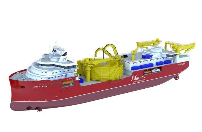 Nexans' Aurora CLV - rendering