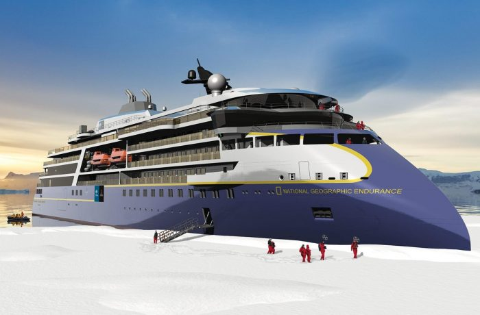 Polar expedition cruise vessel from Ulstein - National Geographic Endurance