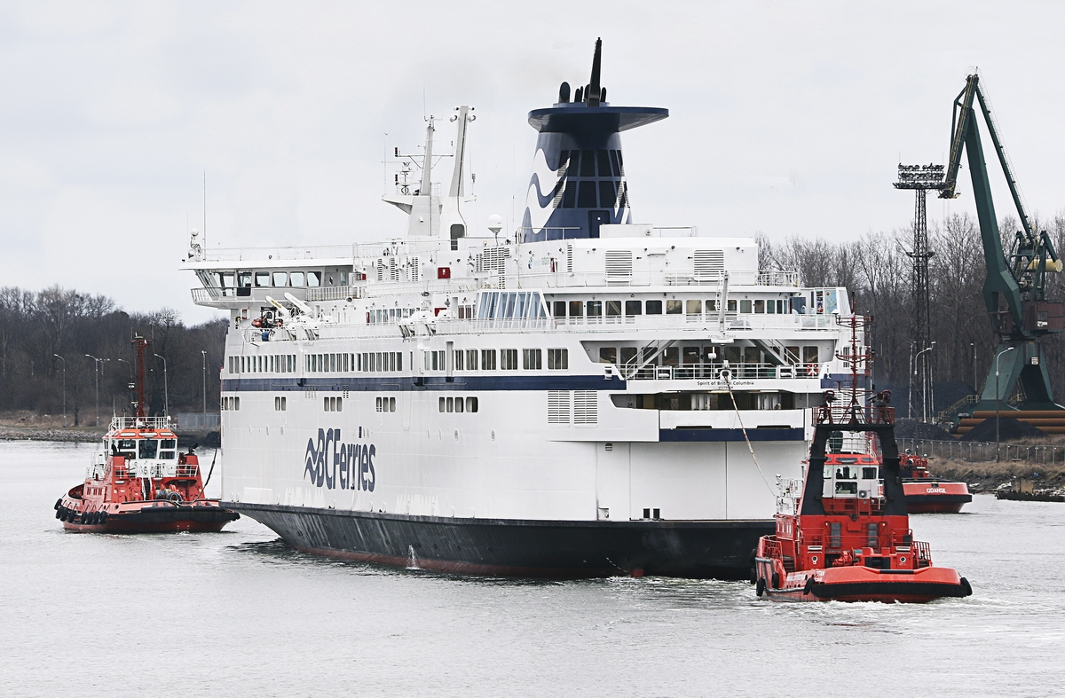 Conversion of Spirit of British Columbia recognized with Shippax award