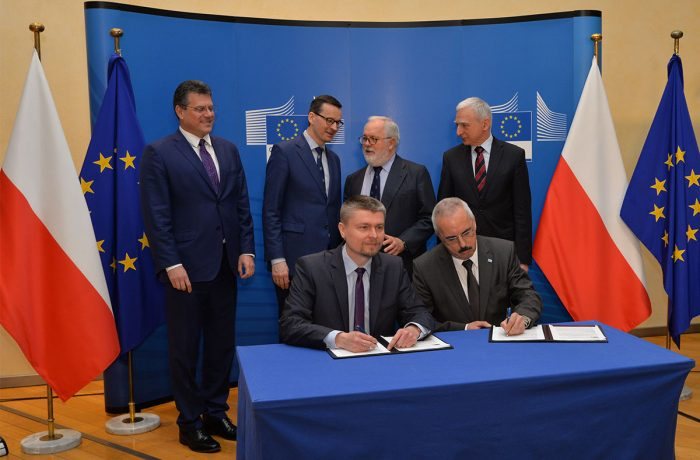 Baltic Pipe EU financing agreement signed