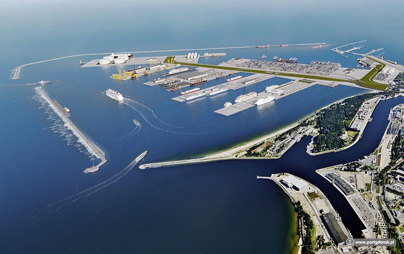 This is what the Central Port in Gdansk is going to look like