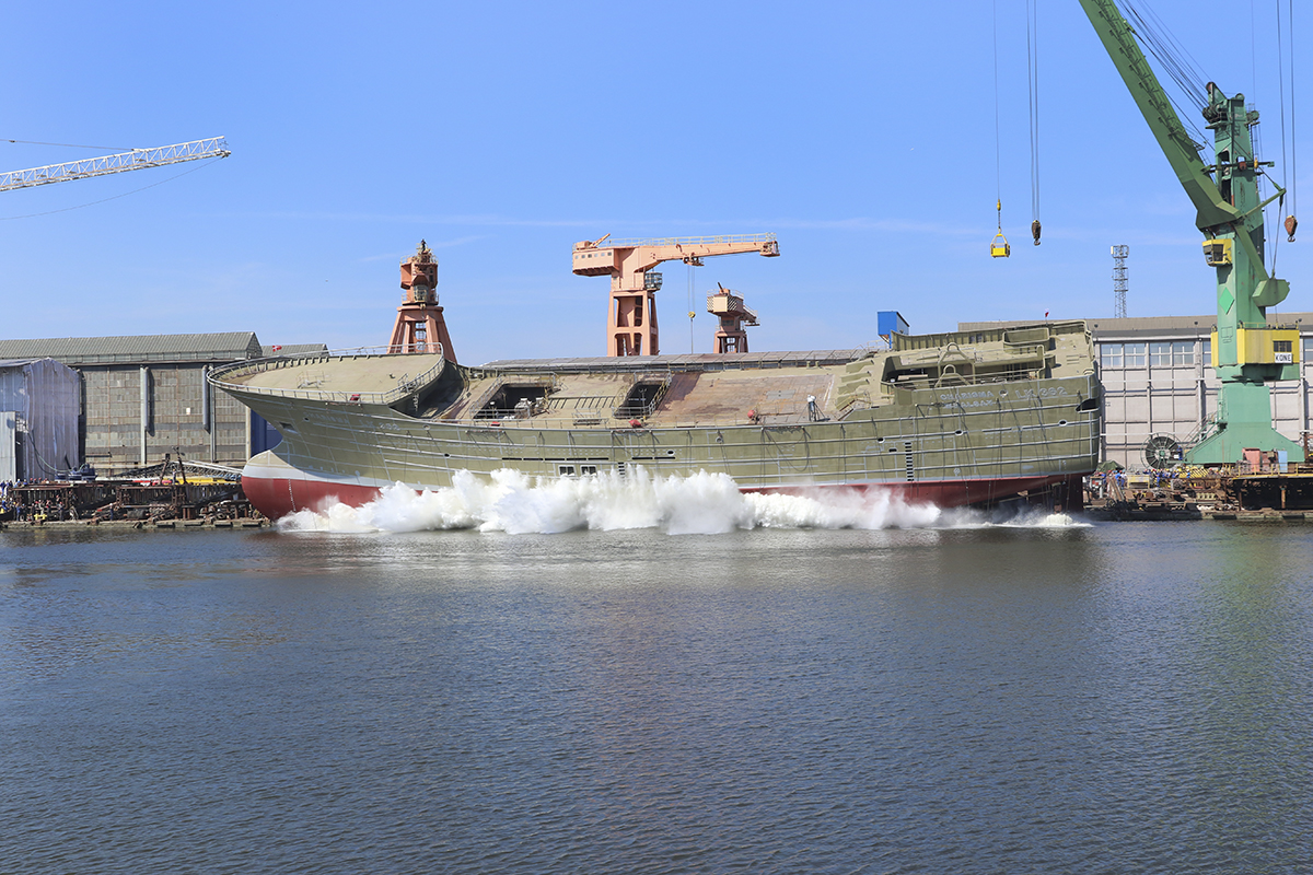 Remontowa Shipbuilding launched another trawler