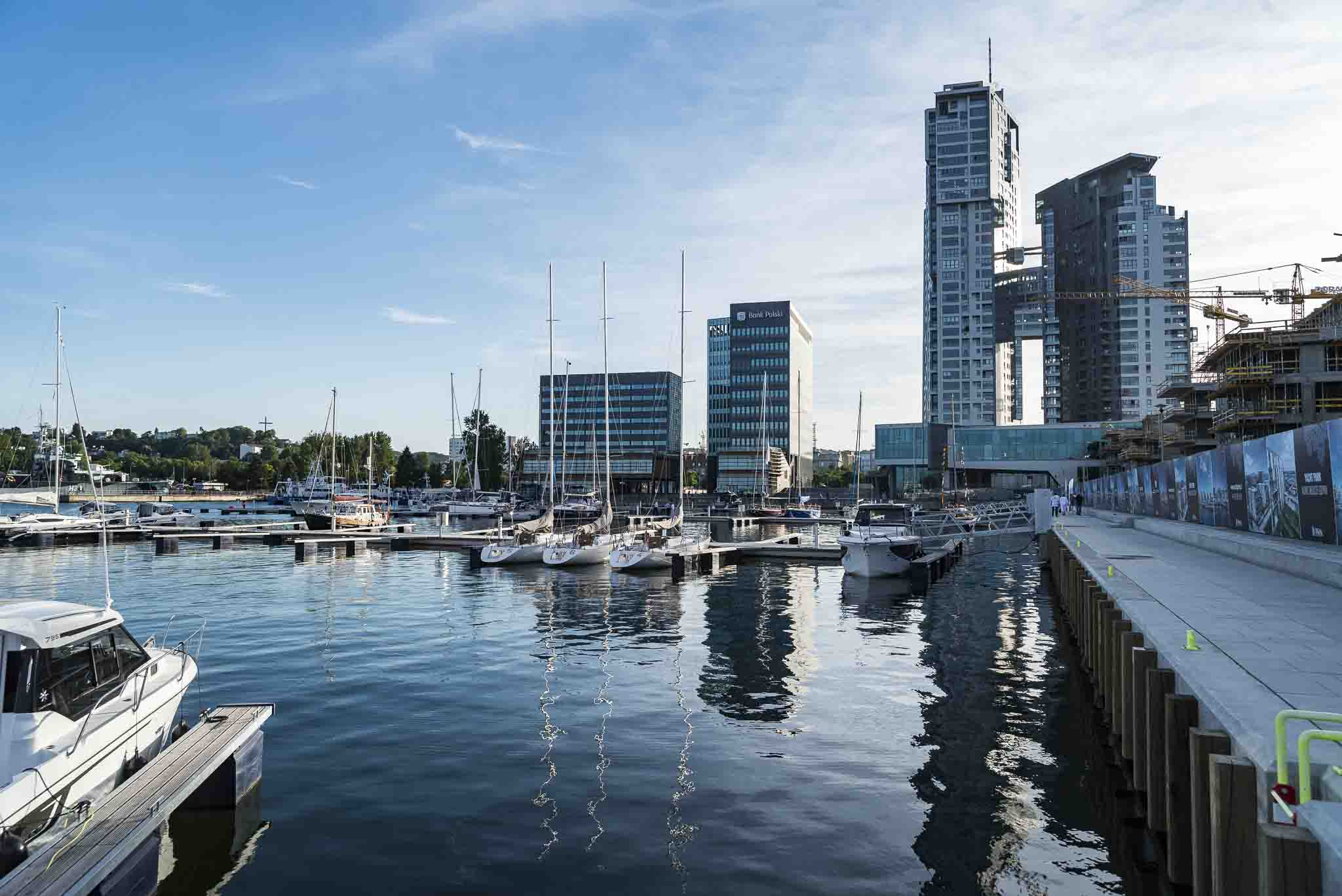 Gdynia A Modern Marina Has Been Opened Poland At Sea
