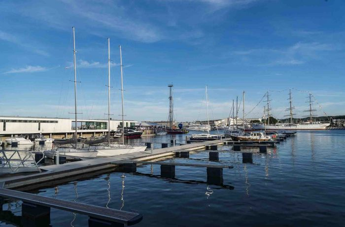Gdynia: A modern marina has been opened