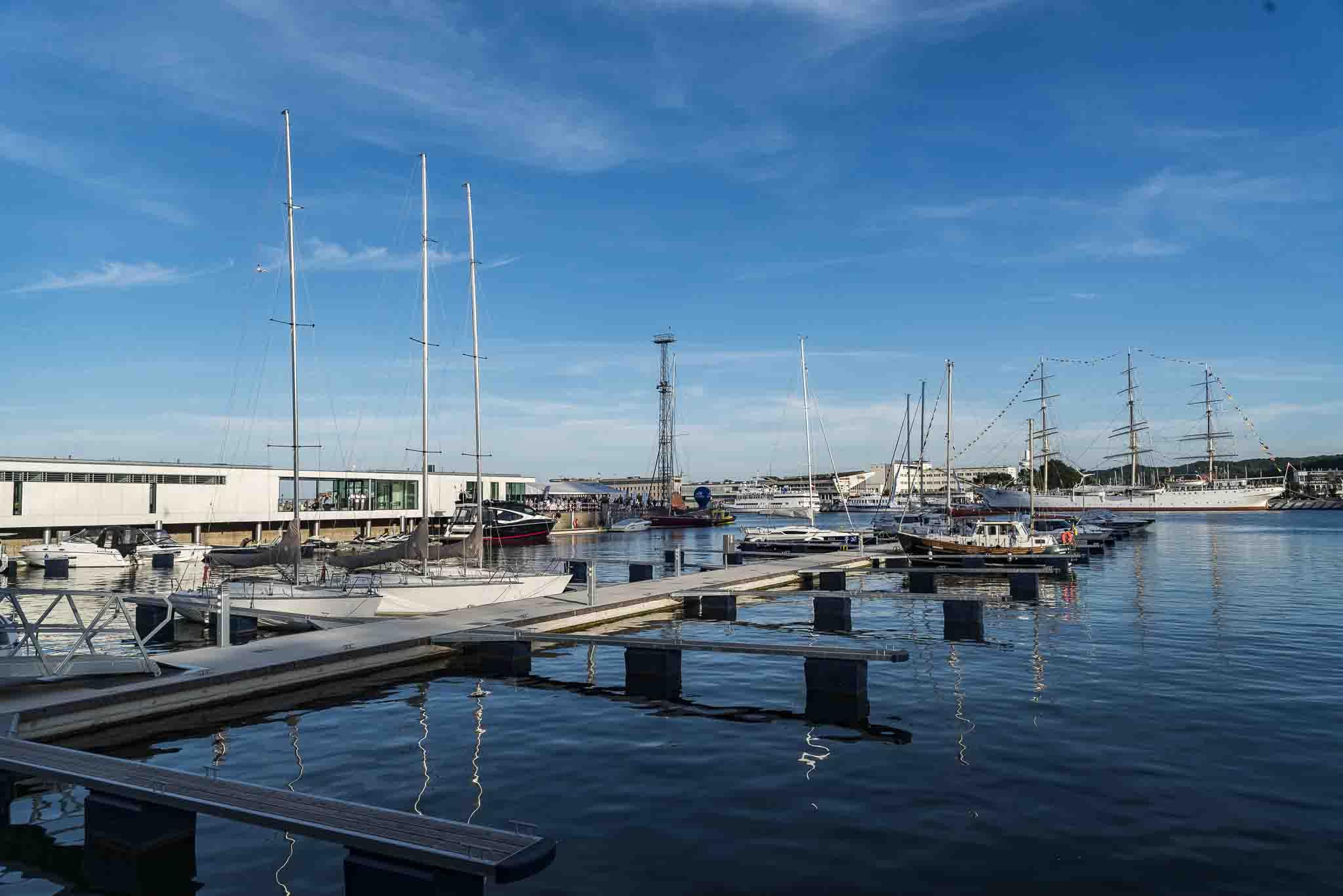 Gdynia: A modern marina has been opened