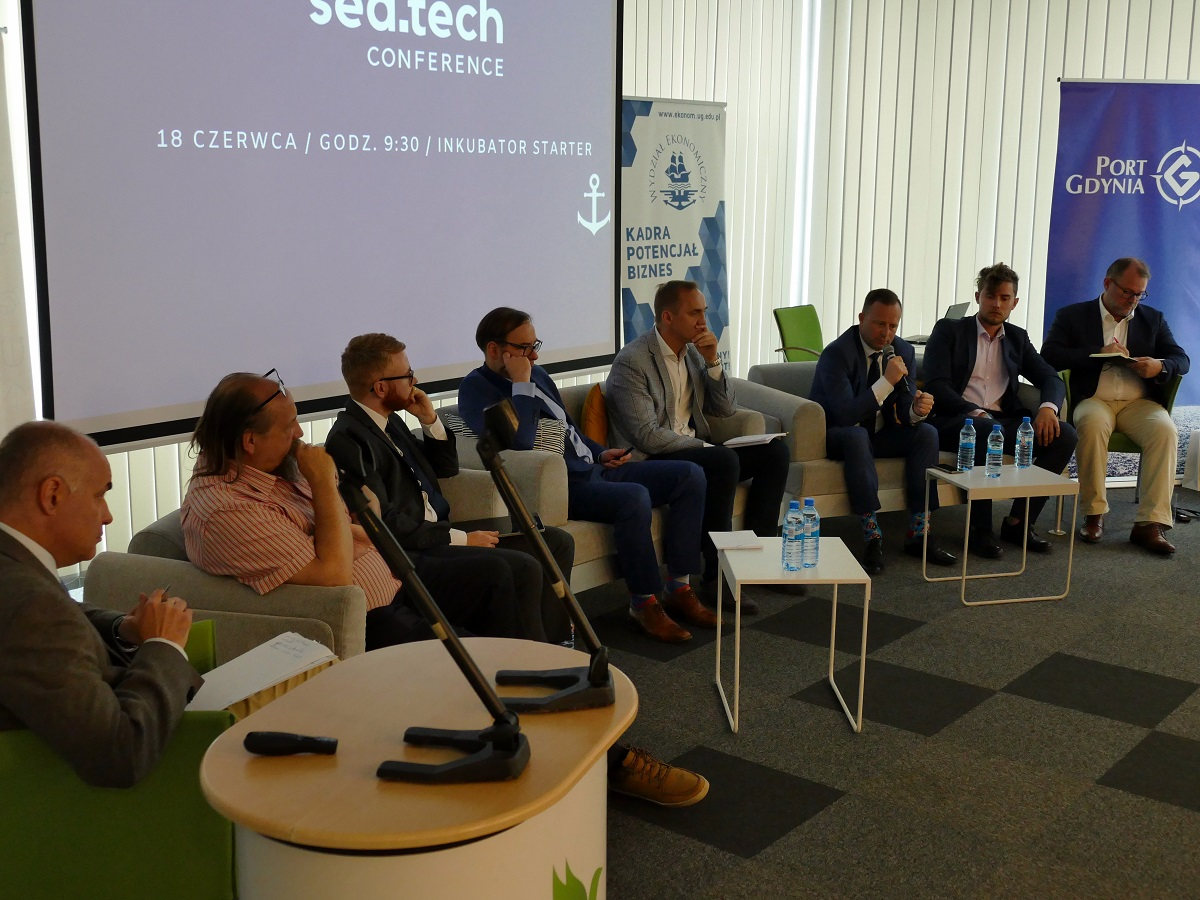 On the future of the maritime industry at the SeaTech