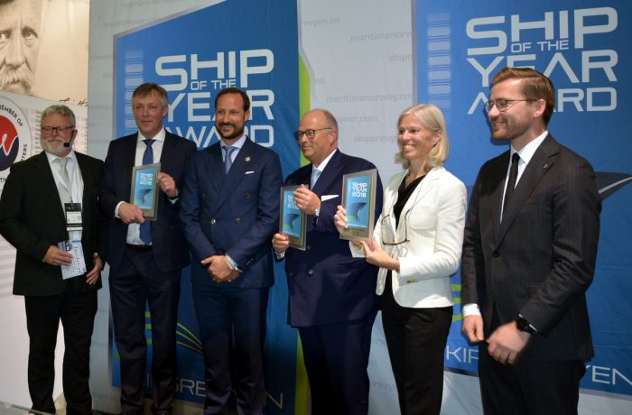 Color Hybrid from the Ulstein shipyard with the Norwegian 'Ship of the Year' title [VIDEO]
