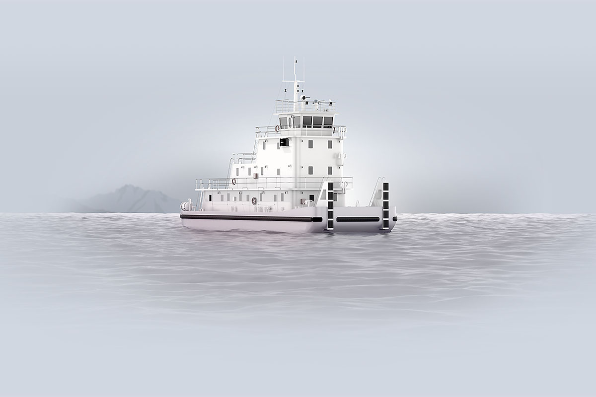 The world's first hydrogen-powered river vessel