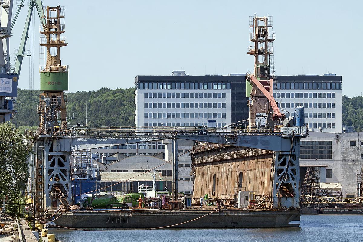 Vistal renovates and modernises a floating dock for Norwegians