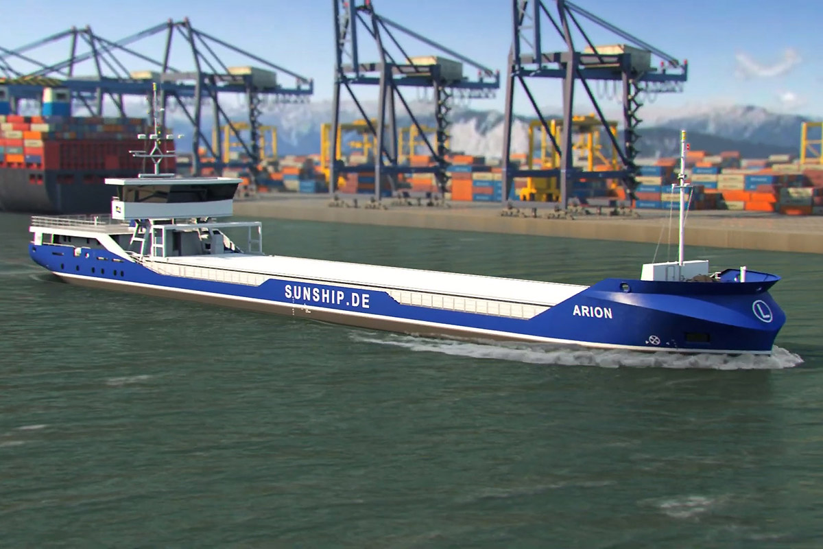 Crowdfunding coach from Szczecin Shipyard
