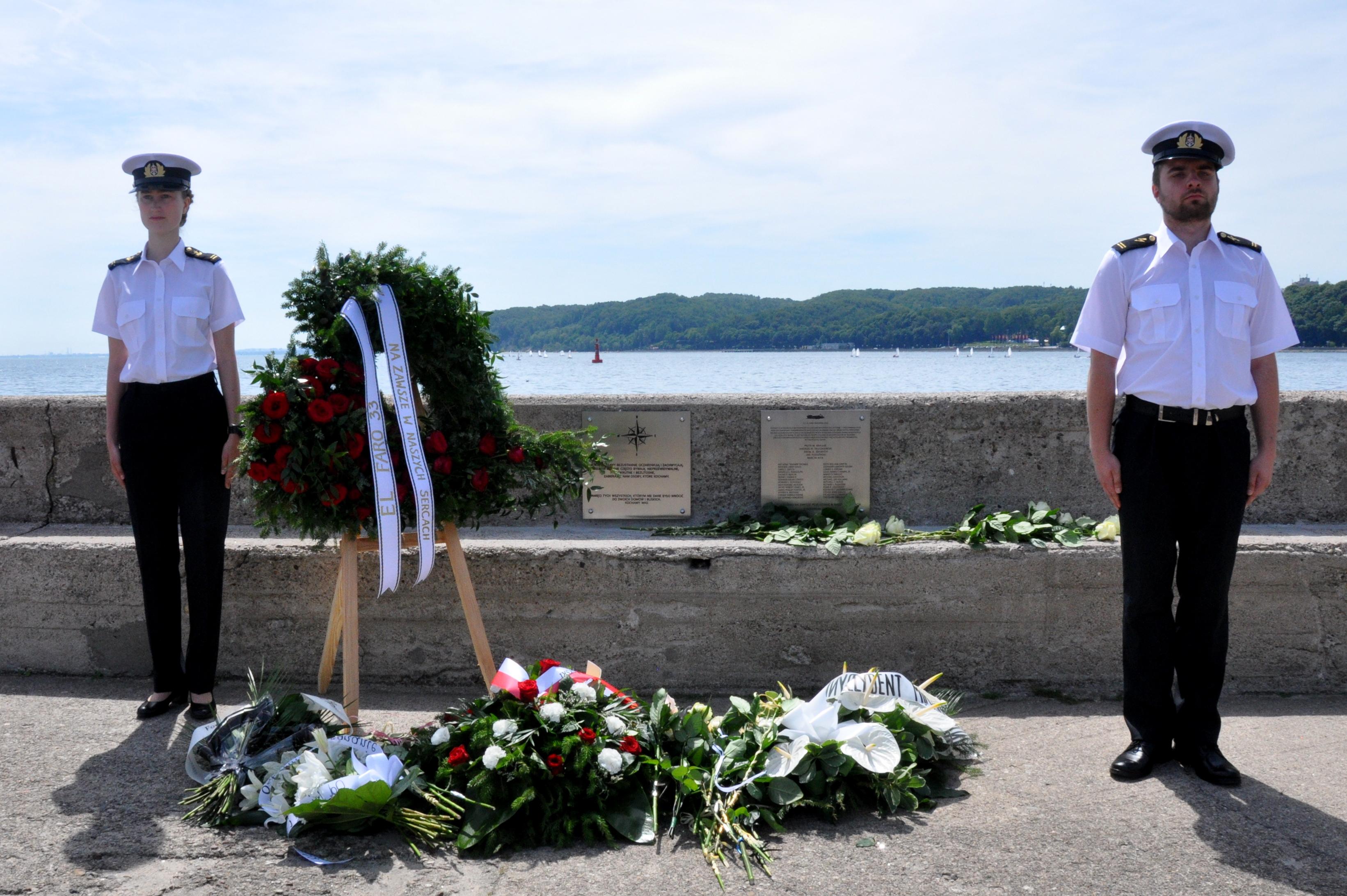 The memory of the El Faro sailors