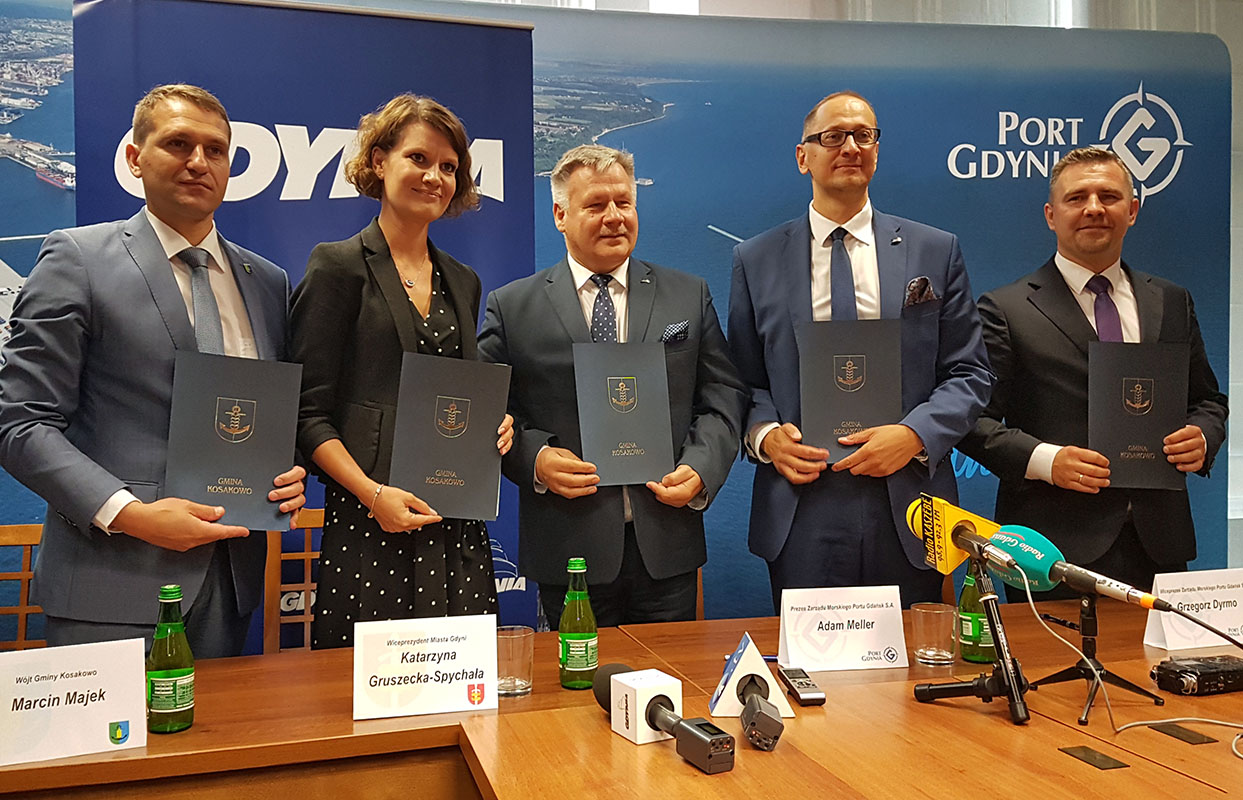 Gdynia region authorities sign LOI on Baltic OWF support cooperation