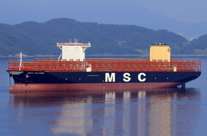 The new largest container ship in the world will arrive in Gdansk