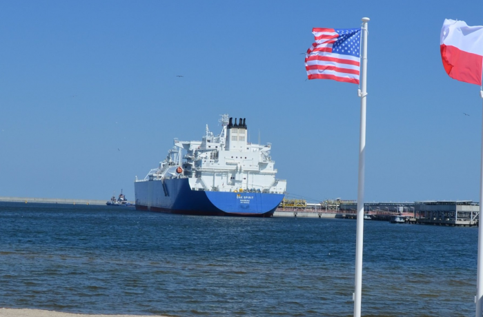 First delivery of American LNG under contract with Cheniere Energy