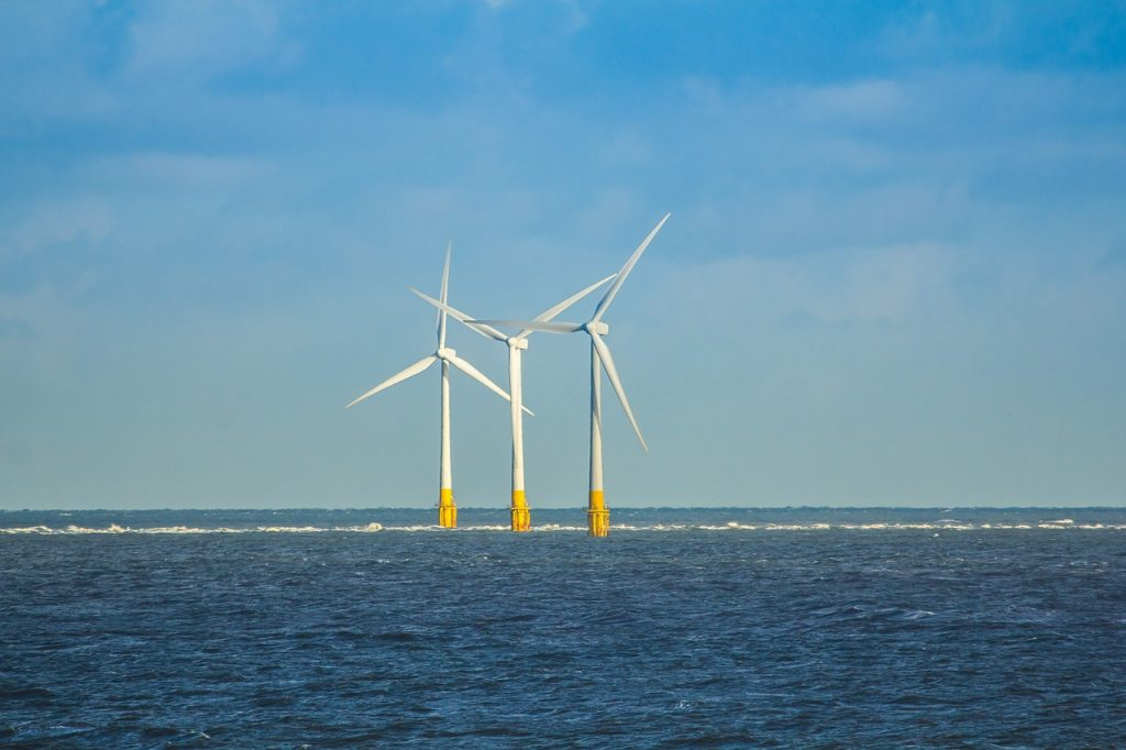 wind farms in the Baltic Sea