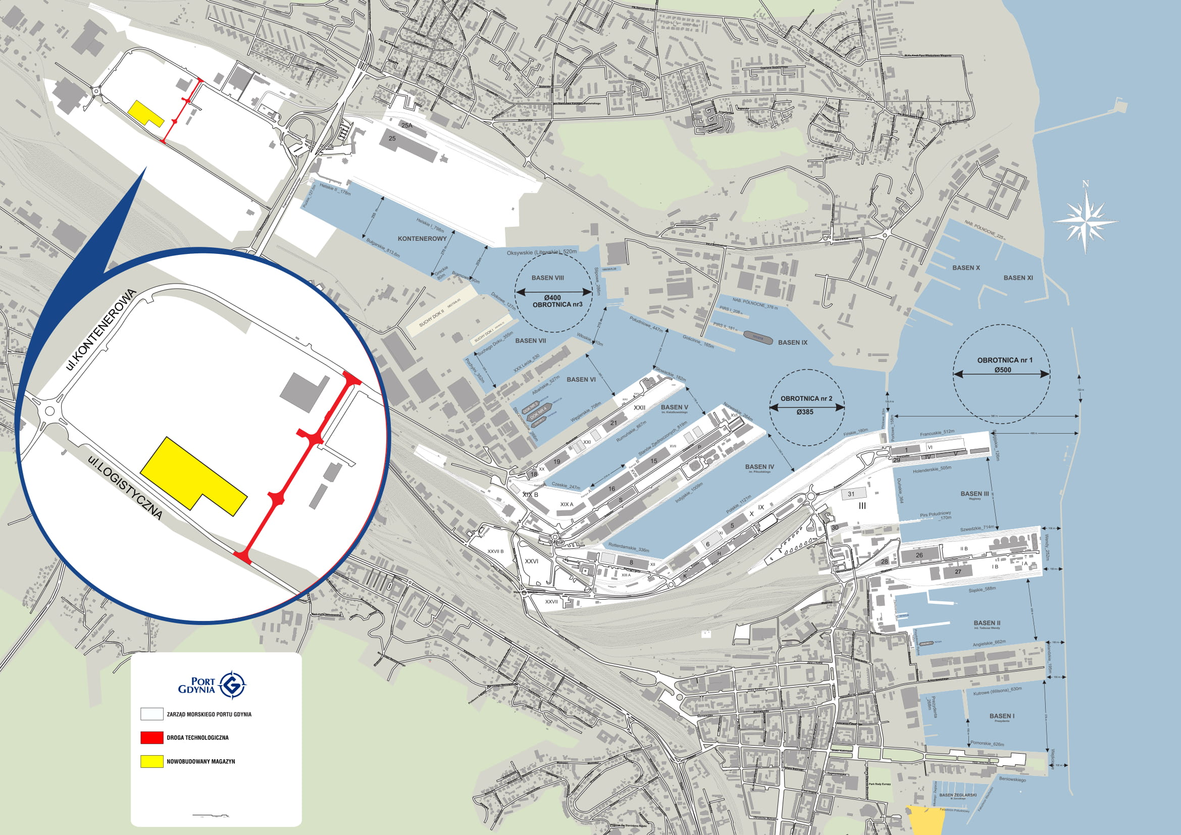 New intermodal infrastructure of the Logistics Centre in the Port of Gdynia