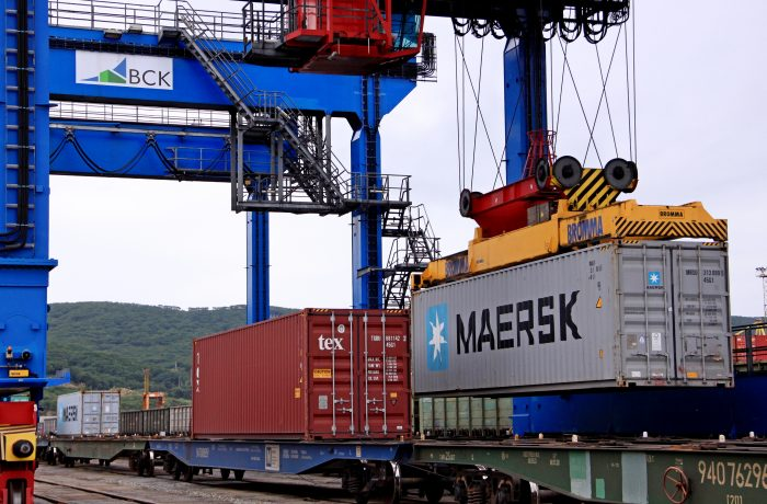 Maersk launches first ocean-rail combined service from Asia to Europe