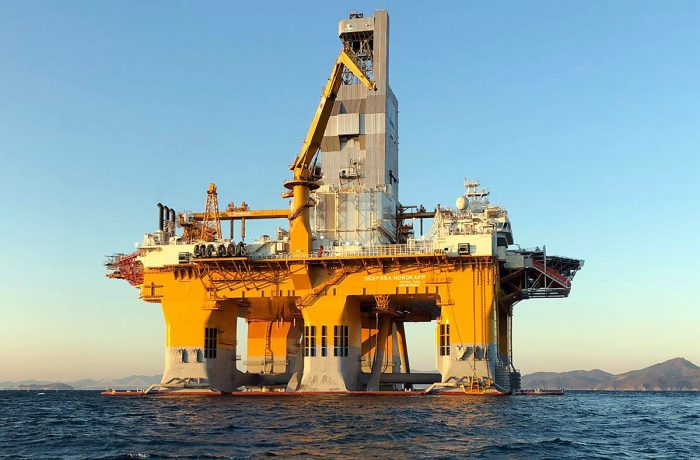 Deepsea Nordkapp semi-submersible drilling rig