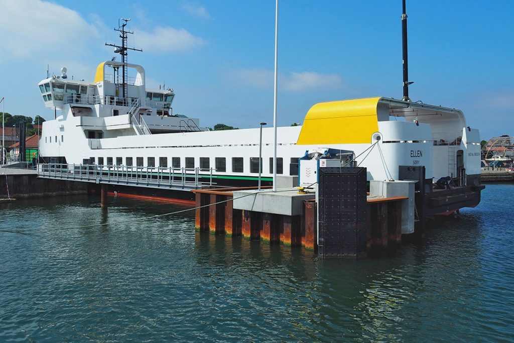 fully electric ferrie