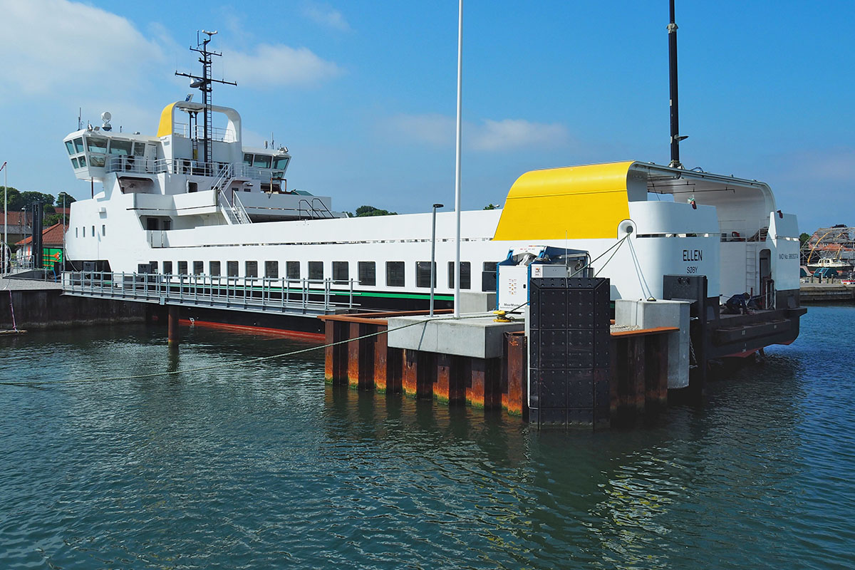 Ellen -fully electric ferry, soon to be working on the Baltic Sea