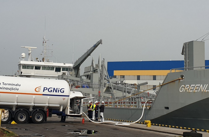 Green Port of Gdynia supports alternative fuels