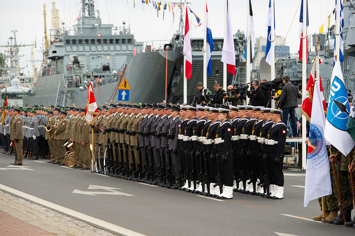20th anniversary of NATO corps. in Szczecin