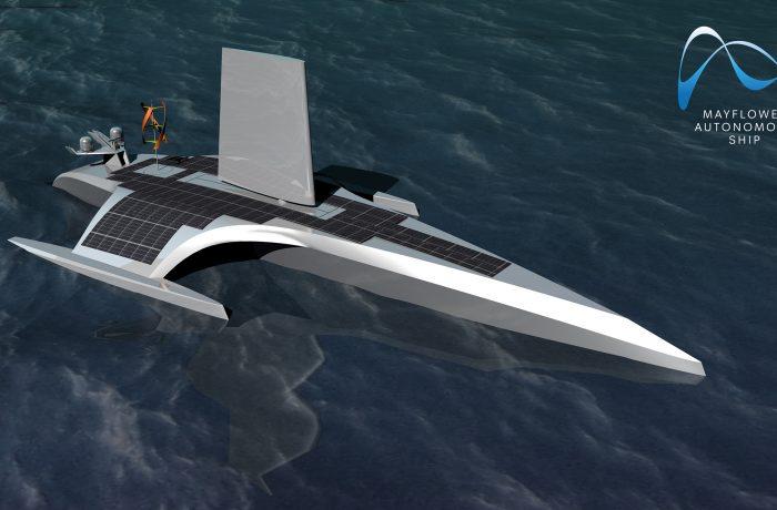 IBM Mayflower World's First Autonomous Transatlantic Ship Project