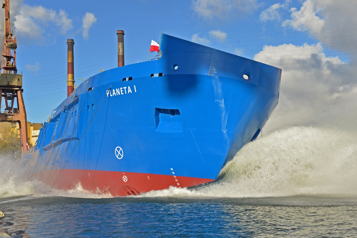 Planet I multipurpose vessel for Maritime Office in Szczecin launched!