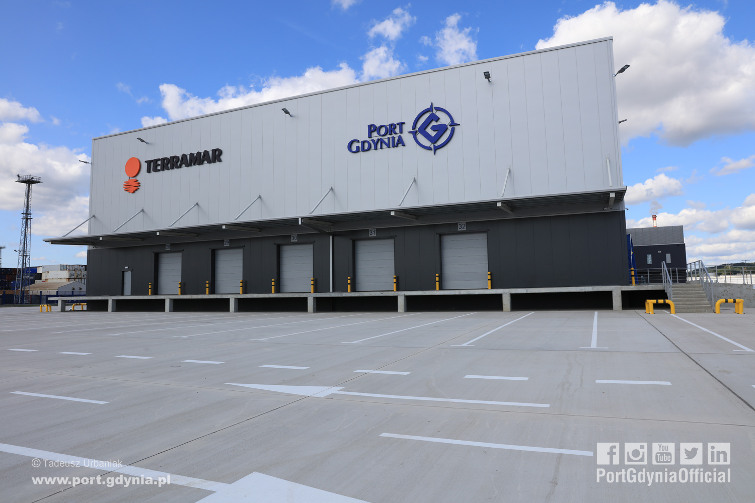 High Storage Warehouse opened in the Port Gdynia Logistics Centre