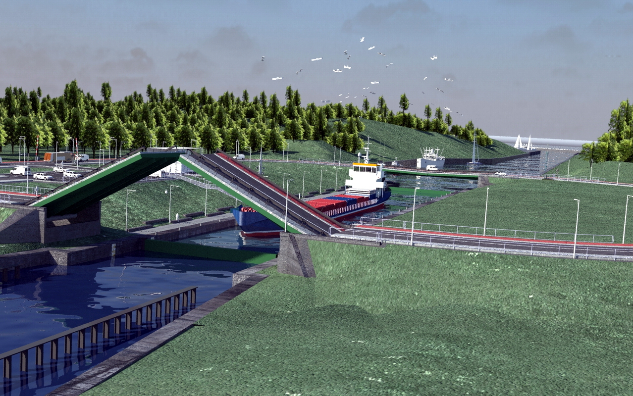 Signing of a contract with the contractor of the Mierzeja Wiślana drifting pit
