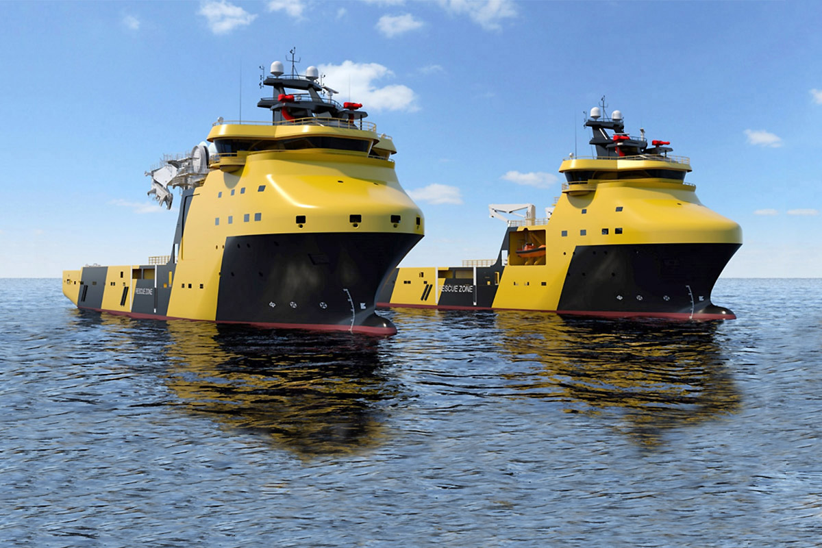 Viking Supply Ships AB co-invests in PSVs from Polish yard
