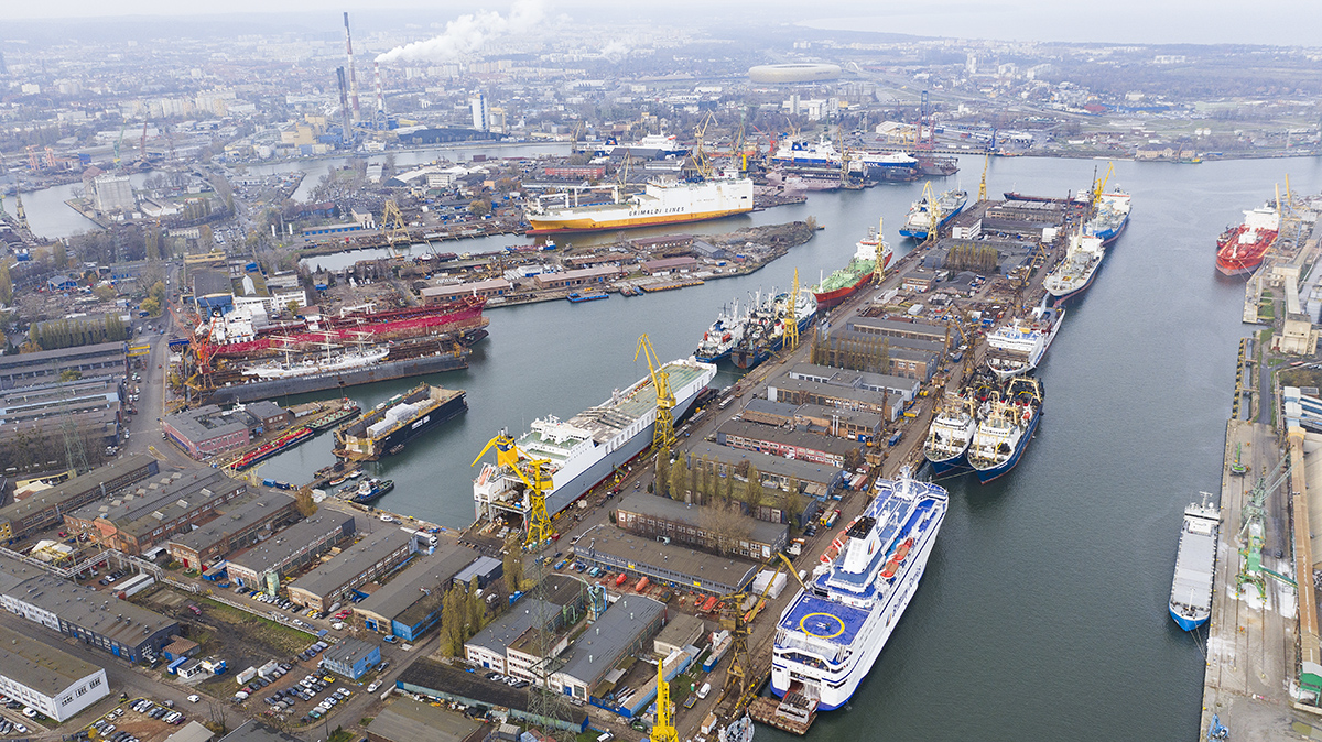 Record number of ships in Remontowa Shiprepair Yard SA!