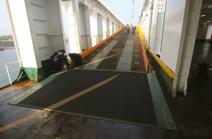 Gdańsk Shiprepair Yard SA rebuilds ferries for CLdN