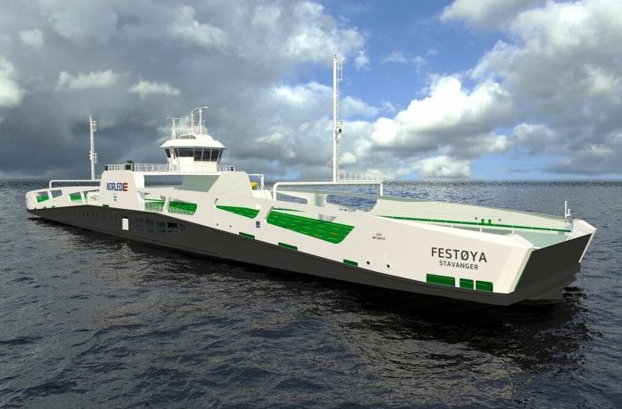 The second electric ferry for Norway launched