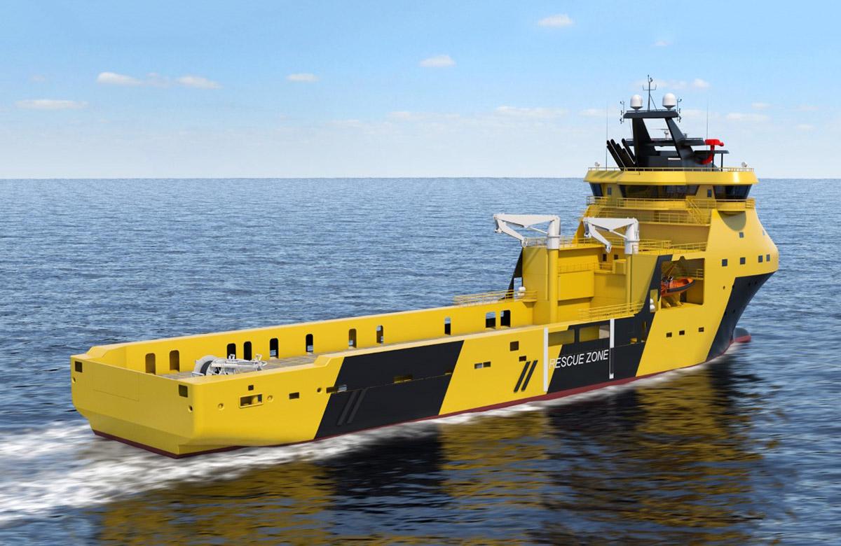 Advanced equipment of PSV ships in Remontowa Shipbuilding