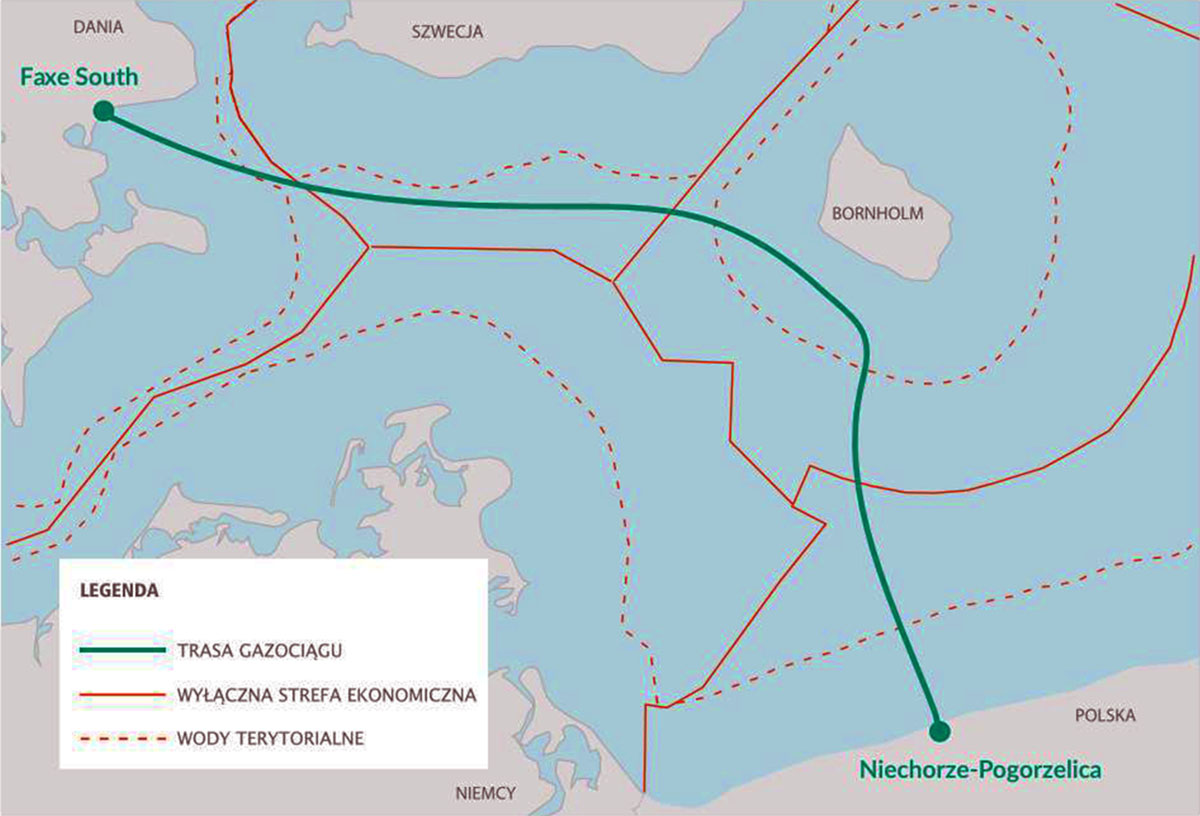 Gaz-System selected pipelay contractor for offshore part of Baltic Pipe project