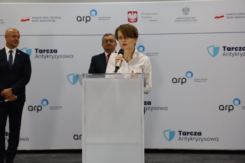 Minister for Development Jadwiga Emilewicz